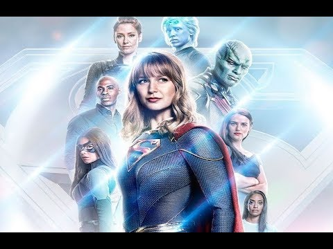 Supergirl || Team Supergirl Fights Against Midnight || Muse – Supermassive Black Hole